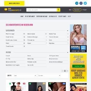 Escort, Privé ontvangst sex advertenties | Topescort.nl