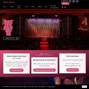 Erotic theatre Casa Rosso Amsterdam - live sex shows