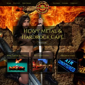 Excalibur Café | Heavy Metal & Hardrock Red Light District Amsterdam