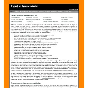Erotisch & Adult / Escort webdesign