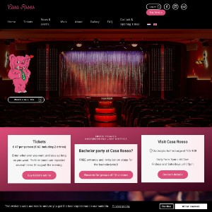 Erotic theatre Casa Rosso Amsterdam - live sex shows